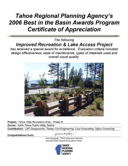 Best in the Basin Awards Program